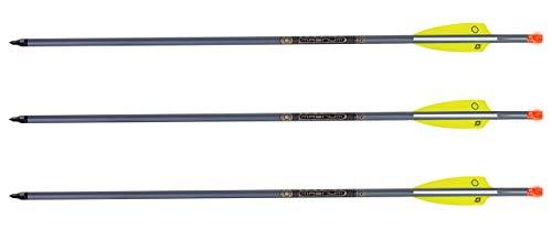 TenPoint XX75 Aluminum Crossbow Arrows with Omni Nocks 20', 3-Pack (HEA-002.3)