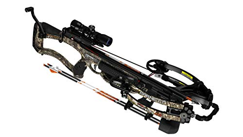 Barnett Archery Hyper Whitetail 410 Ready to Hunt Crossbow Package with Crank Cocking Device | Shoots 410 Feet Per Second, one Size