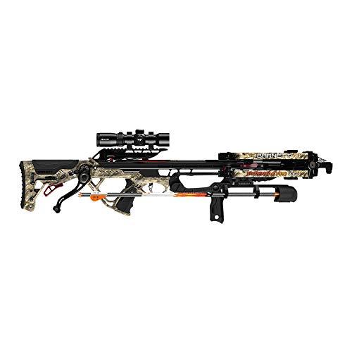 Barnett Archery Hypertac Pro 430 Crossbow Package with Crank Cocking Device |Shoots 430 Feet Per Second, Multi (BAR78165)