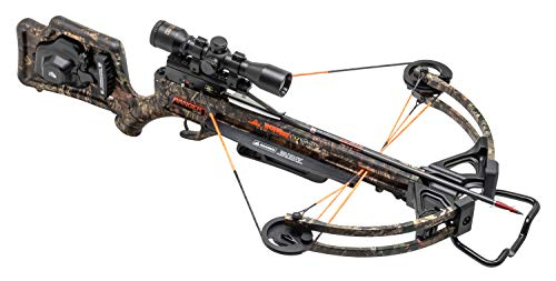 TenPoint Wicked Ridge Ranger X2 Crossbow Package, Multi-Line Scope and ACUdraw Cocking Device (WR19025-5532)