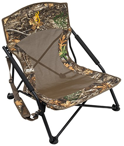 Browning Camping 8525014 Strutter Folding Chair (Regular) Realtree Edge, 22'x14'x24