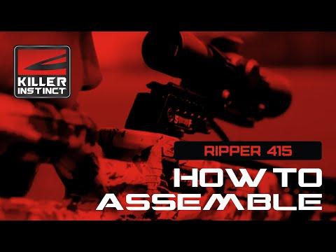 KILLER INSTINCT RIPPER 415 - How To Assemble