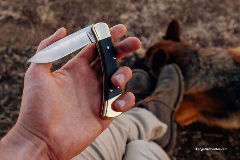 Buck 110 Review - Folding Hunter Knife