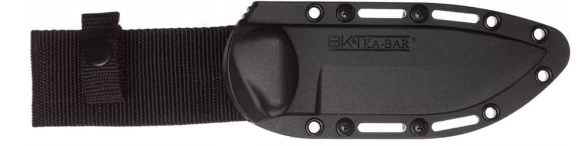 The sheath of the Ka-Bar Becker BK2