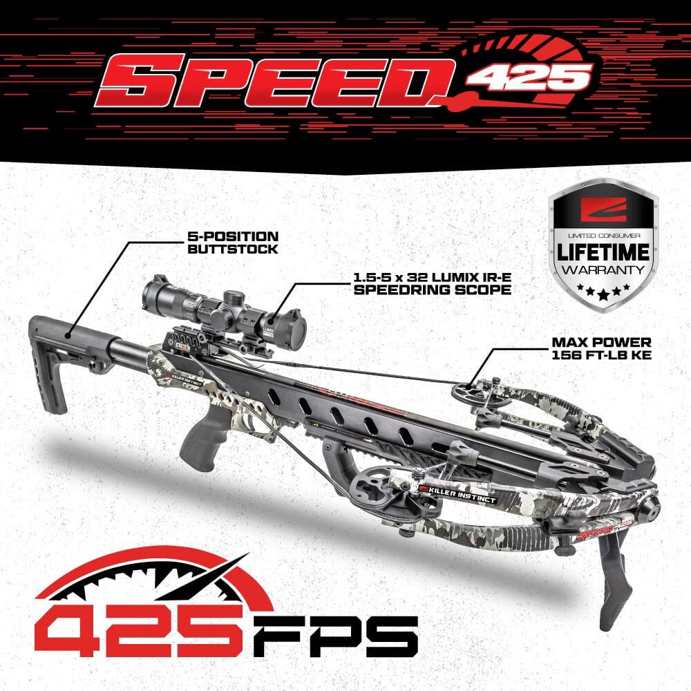 Killer Instinct Speed 425 Specs