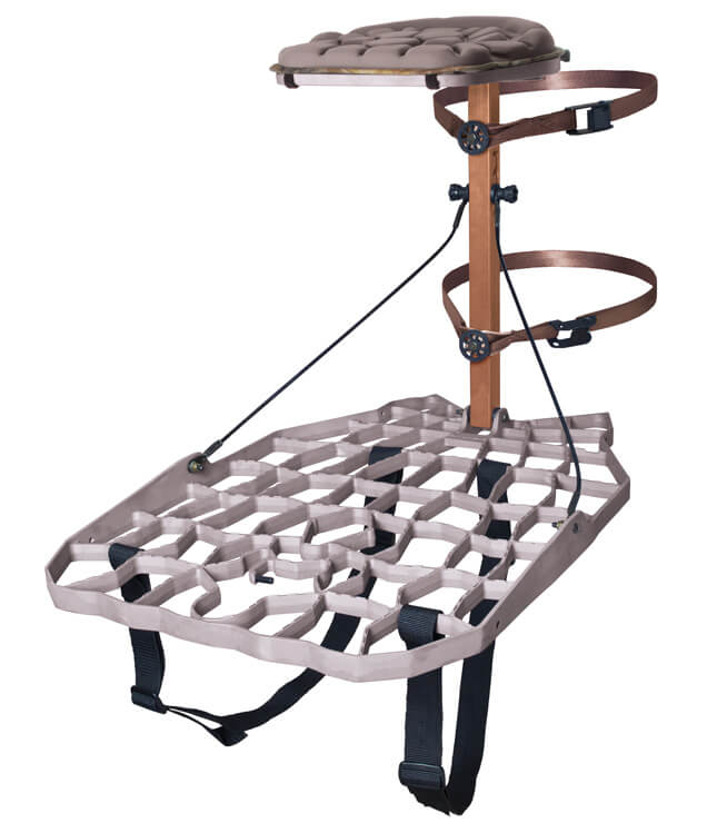 Lone Wolf Alpha II Tree stand for Hunting Review 1