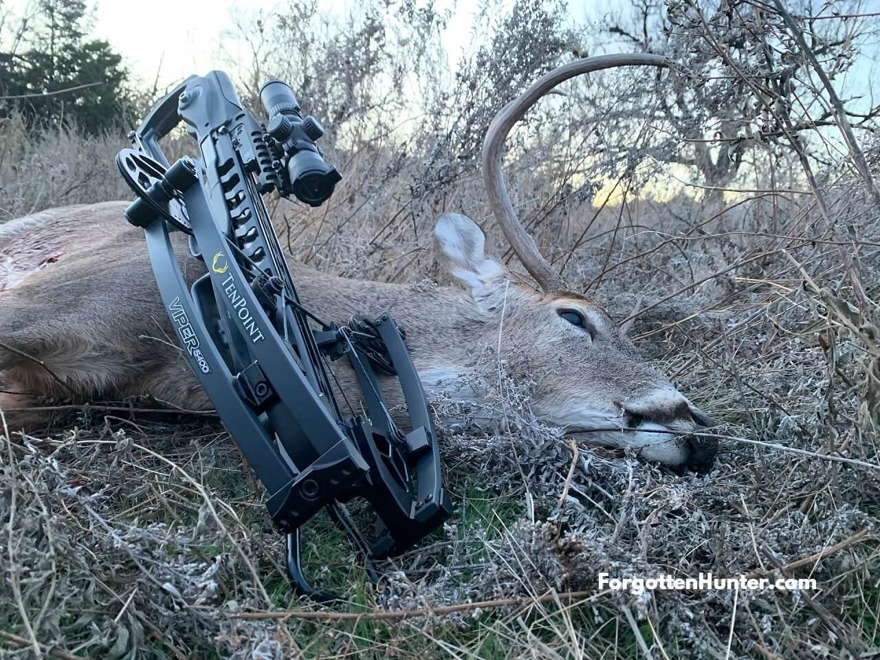 TenPoint S400 Deer Hunting