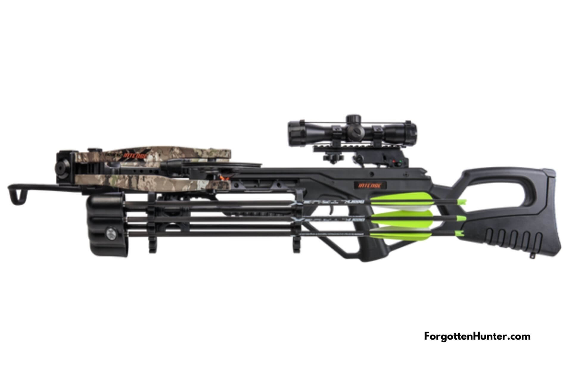 Bear X Intense CD Crossbow Side View Render