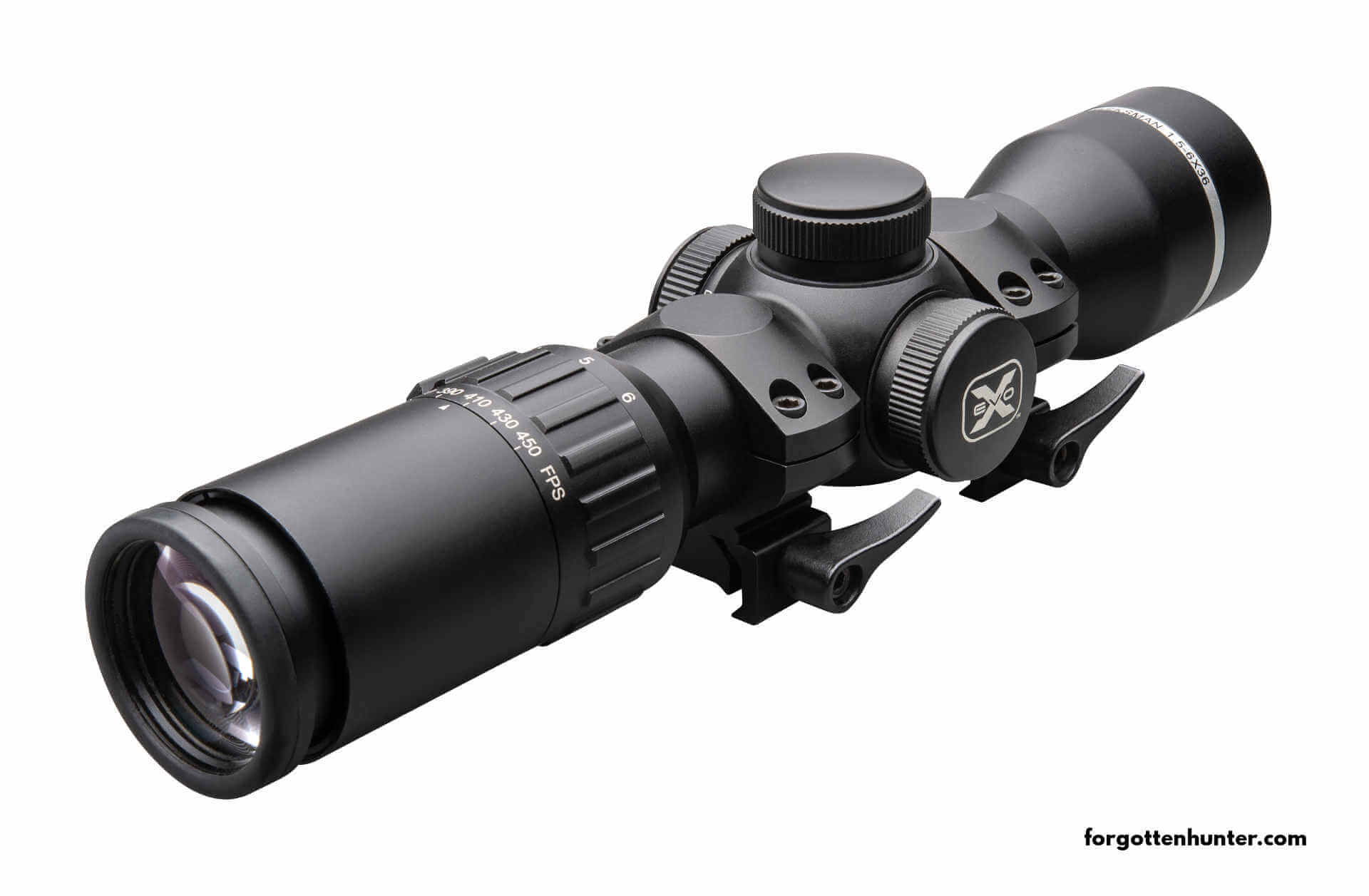 The EVO-X long range precision scope that comes with the Nitro XTR.