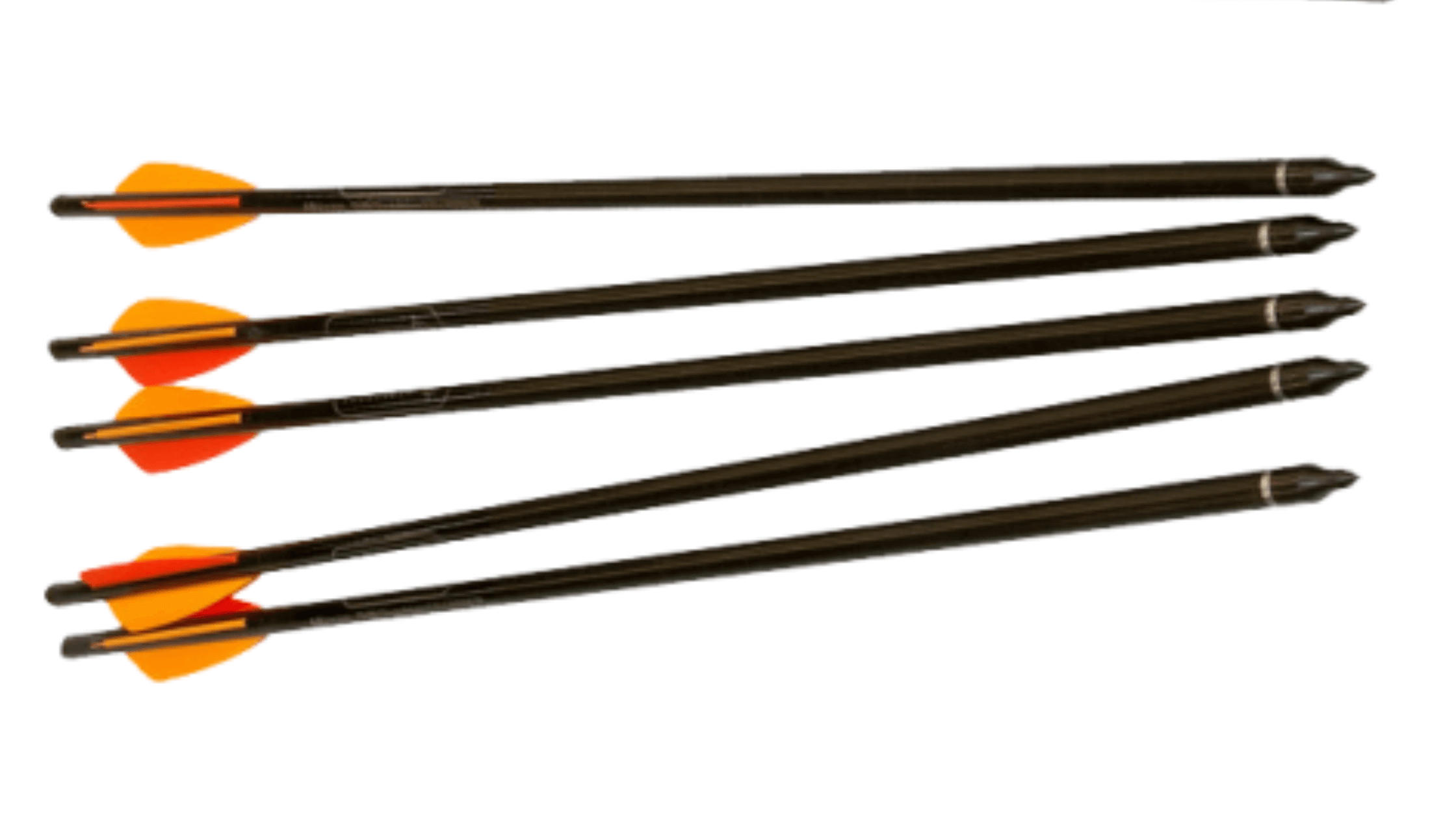 Headhunter arrows used for field testing the Barnett Predator crossbow