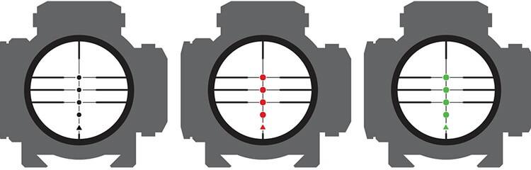 TenPoint Pro View Reticles
