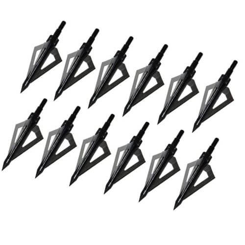 12 Sinbadtech Broadheads that weigh a 100 grain each