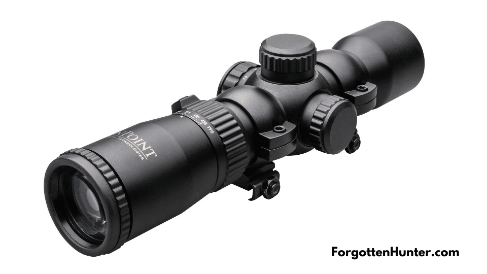 Pro Rangemaster Scope that comes with the Tenpoint Stealth NXT ACUdraw Pro Elite Package