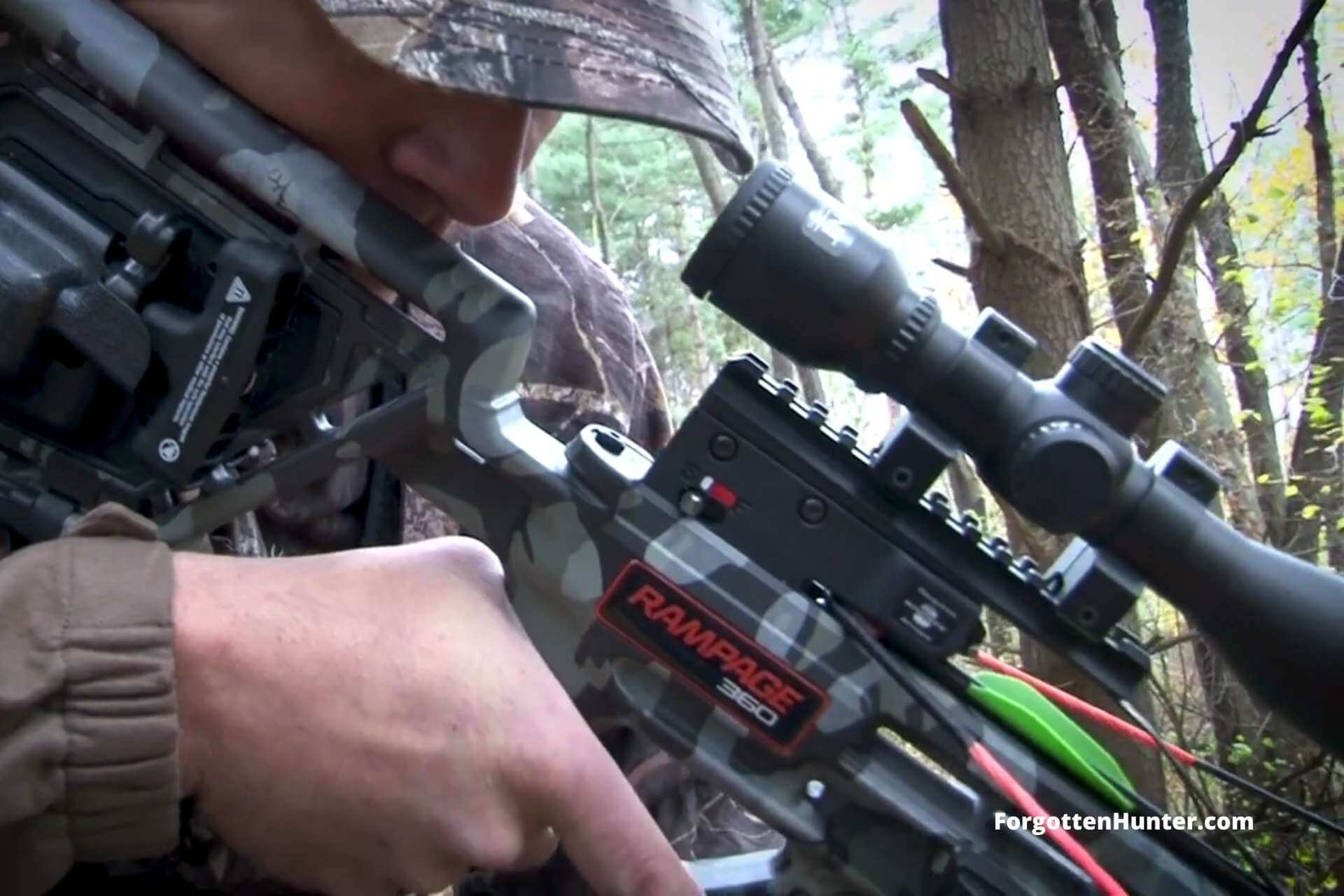 Wicked Ridge Rampage 360 Crossbow Review