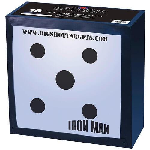 BIGSHOT Iron Man 18- High Compression Archery Field Point Target
