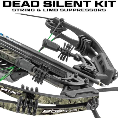 Dead Silent Kit Installed On The Killer Instinct Boss 405 Crossbow