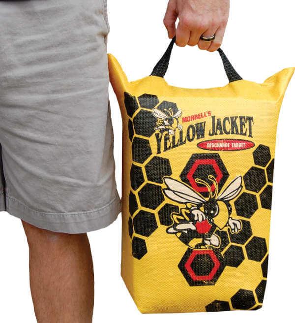 Morrell Yellow Jacket Crossbow Bolt Discharge Bag Archery Target