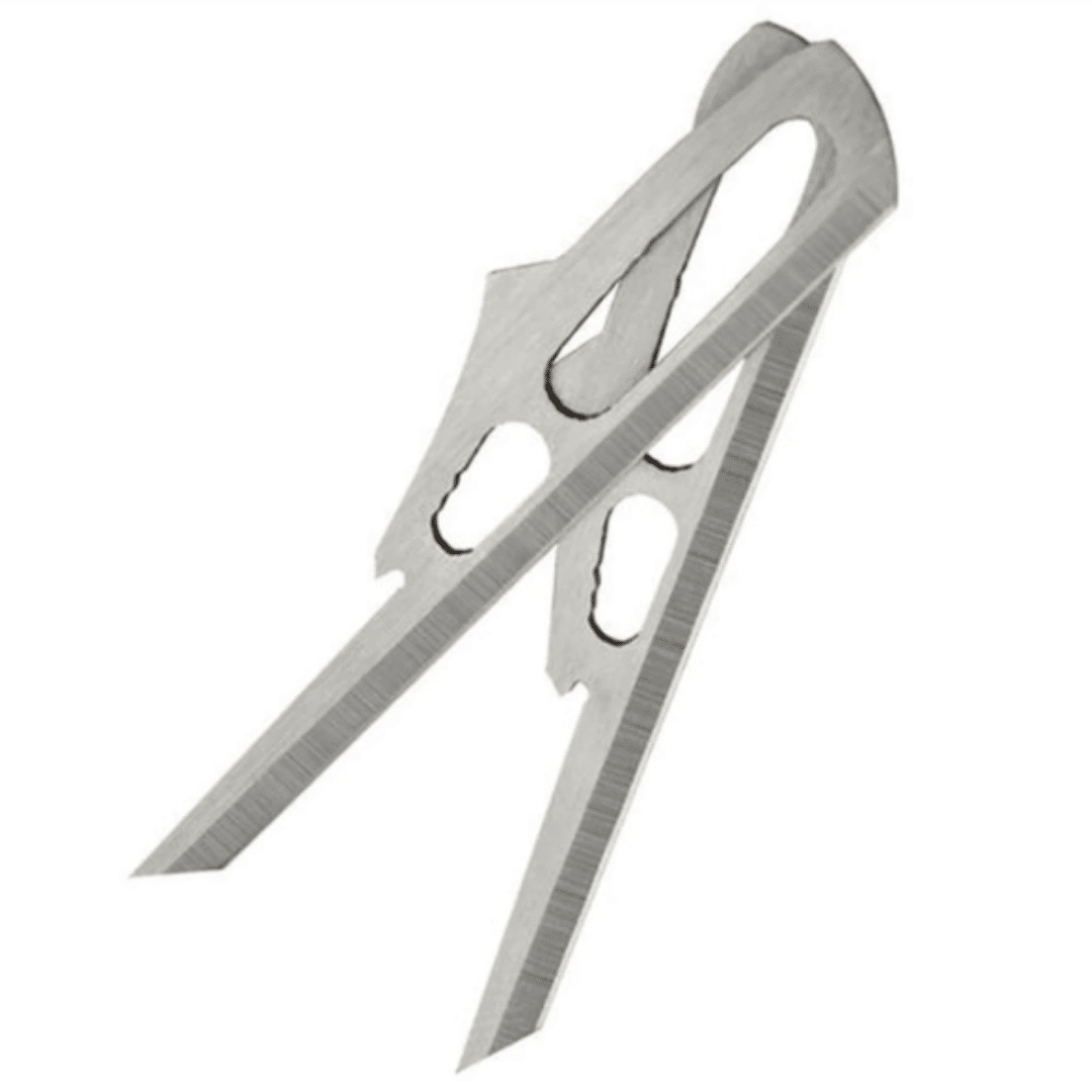 Replacement blades for the Rage Crossbow X Broadhead
