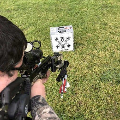 SpyderWeb ST 18XL Field Point Crossbow Block Target Field Pic