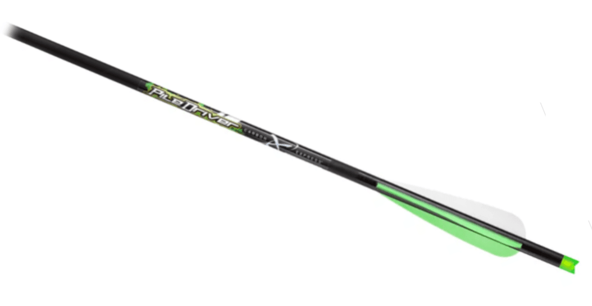 Carbon Express PileDriver crossbow bolt