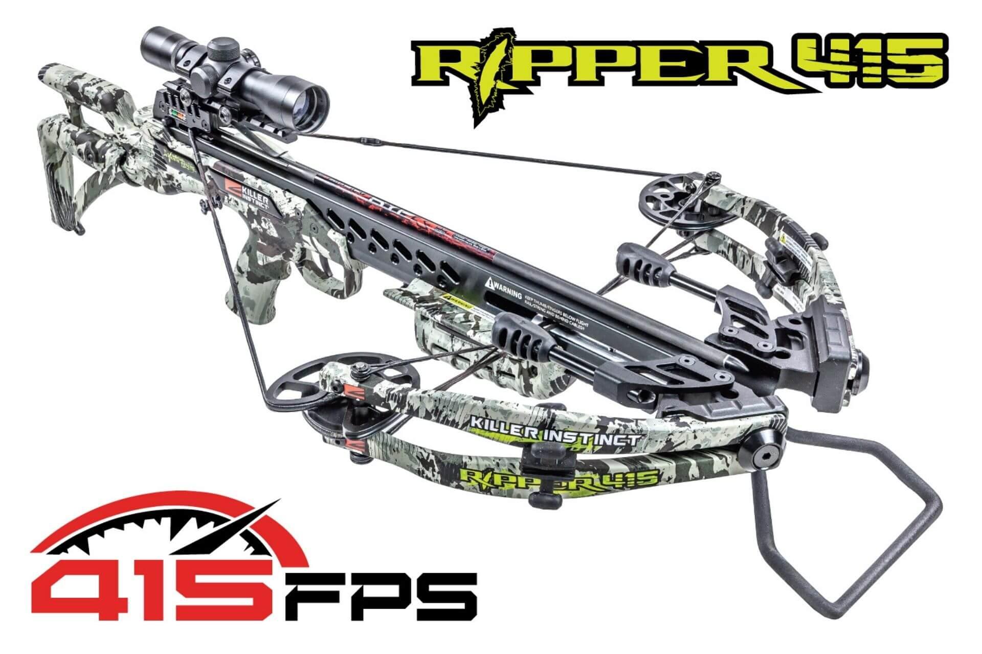 Killer Instinct Ripper 415 Crossbow Review