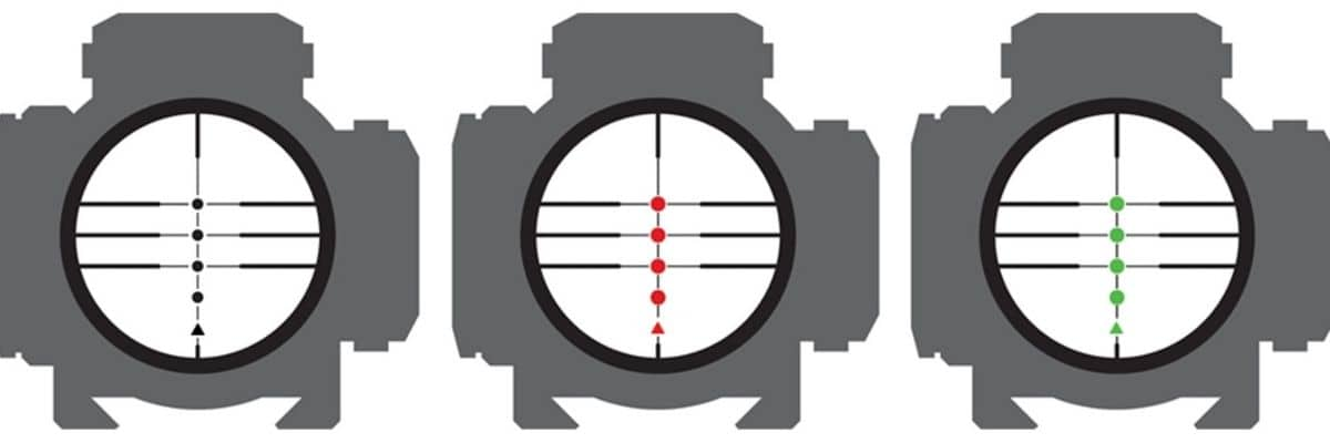 3x Pro view Scope Dots