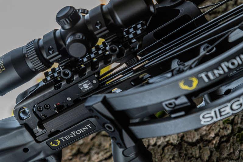 TenPoint Siege RS410 Closeup