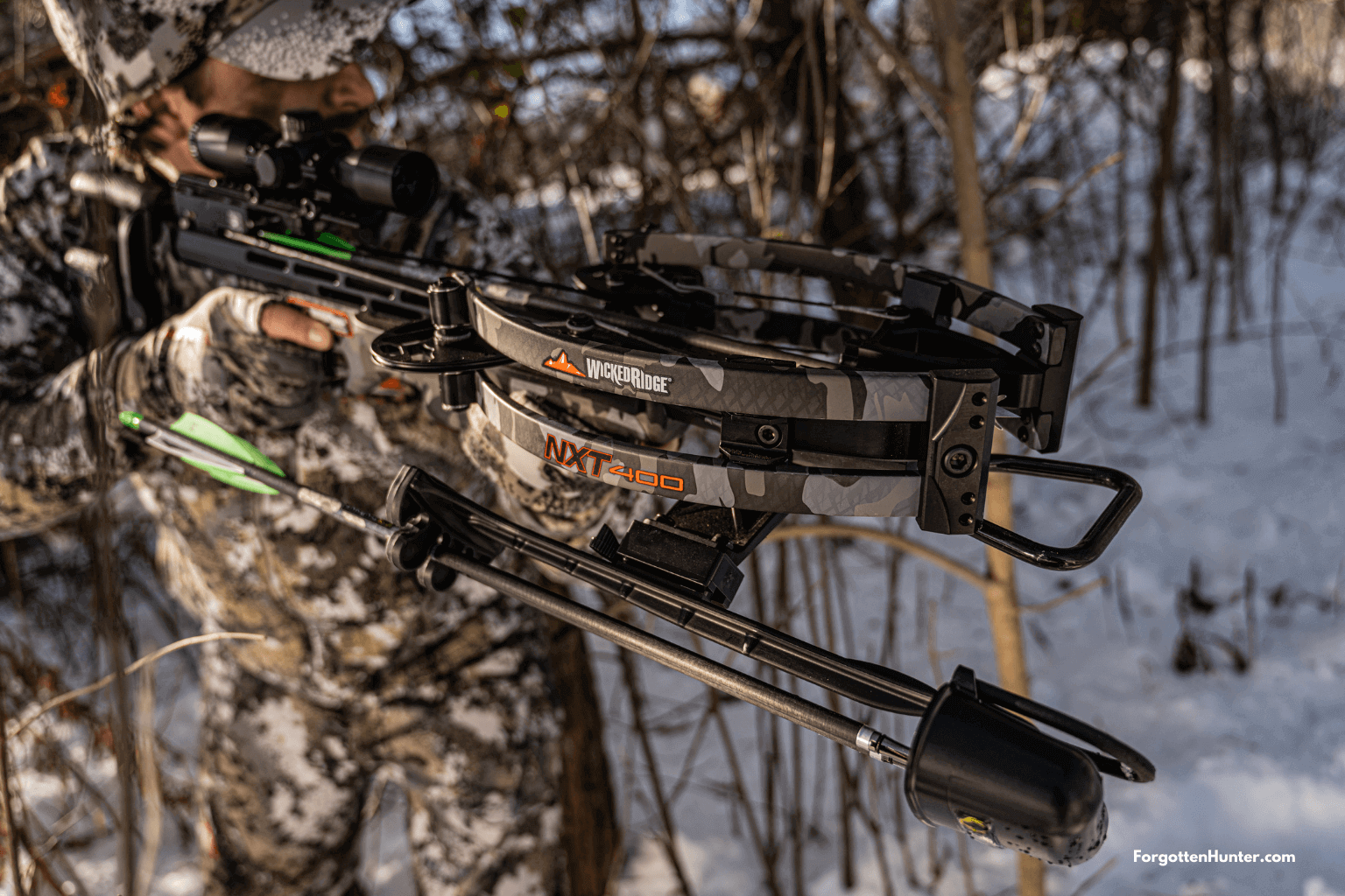 Wicked Ridge NXT 400 Review - The Narrowest and Most Accurate Wicked Ridge Crossbow So Far!
