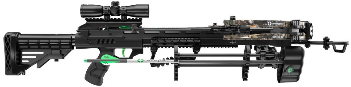 CenterPoint Sniper Elite 385 from the side