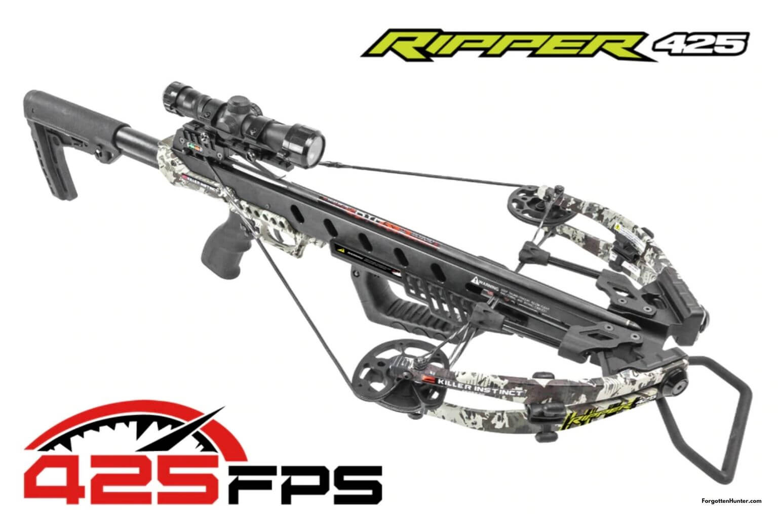 Killer Instinct Ripper 425 Review - Fast, Accurate and Adjustable Crossbow