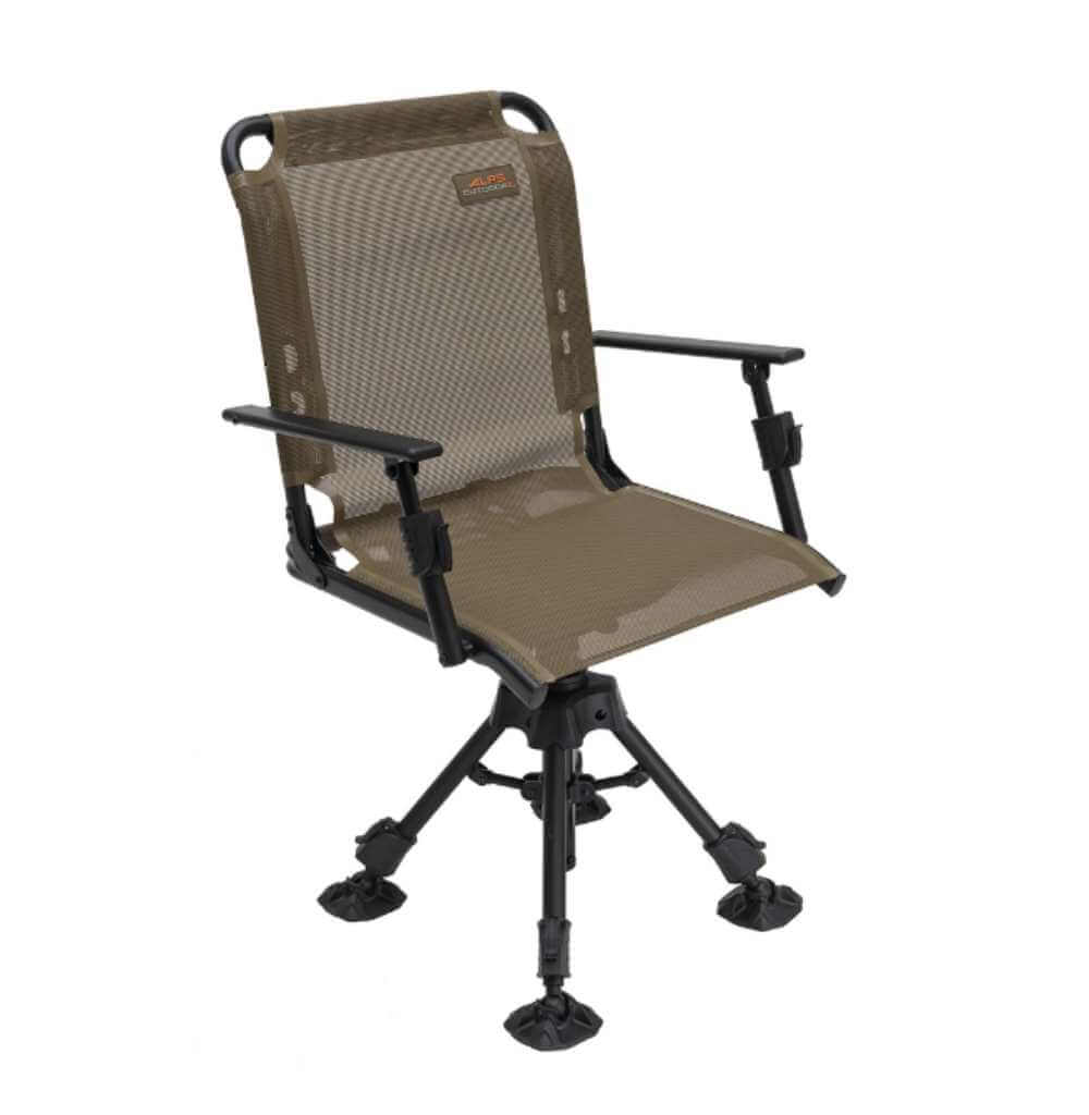 ALPS OutdoorZ Stealth Hunter Blind Chair - best hunting chair (Editor's Choice)