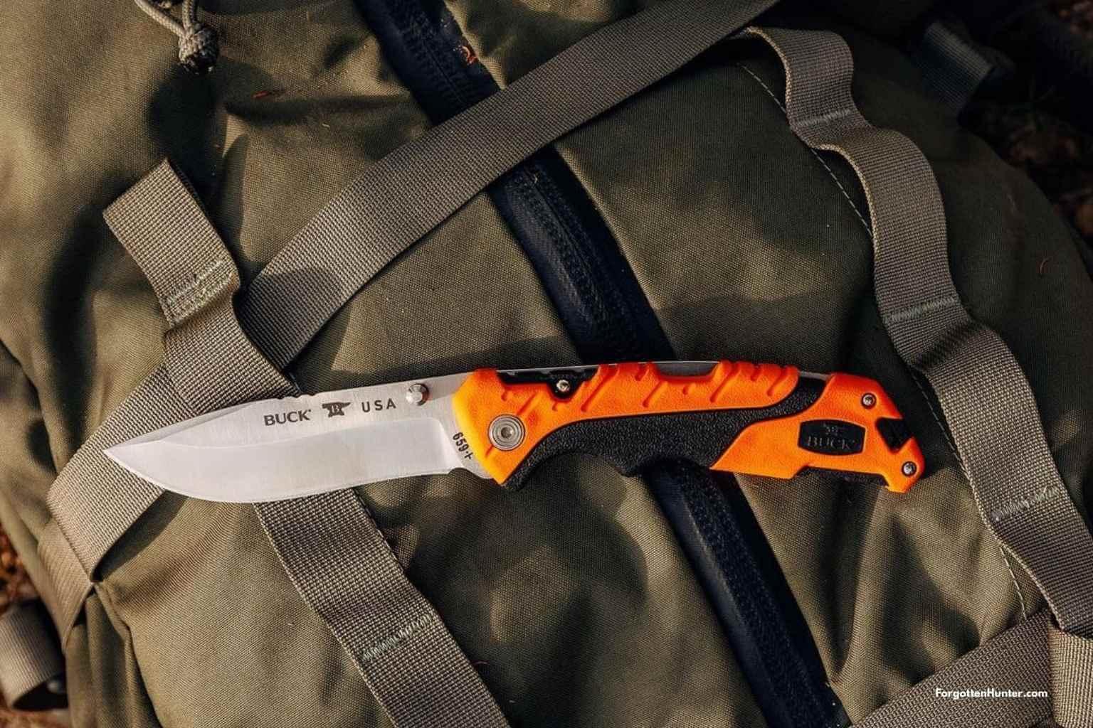 Buck Pursuit Pro Series - Knife Reviews [Fixed & Folders]