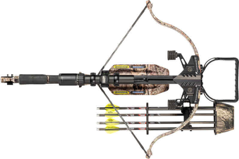 Top View of the Excalibur TwinStrike Crossbow