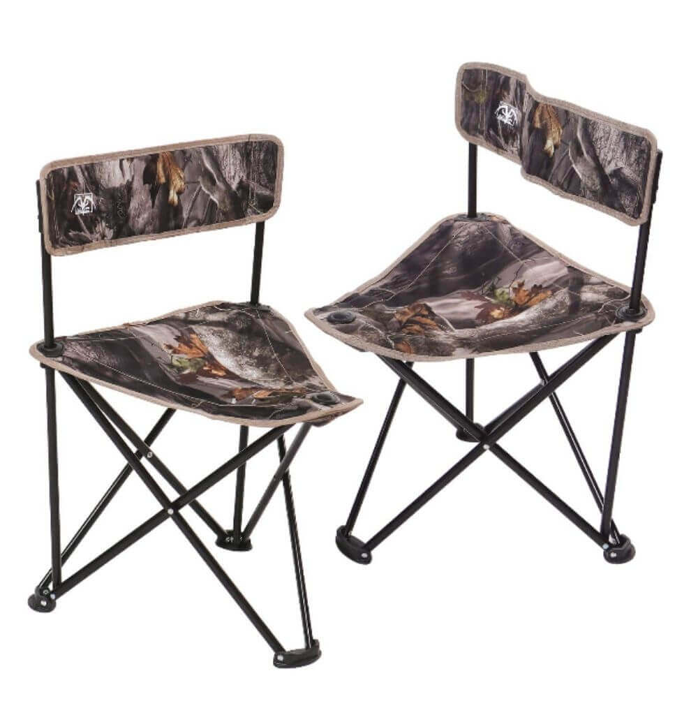 REDCAMP 2-Pack Tripod Hunting Chairs