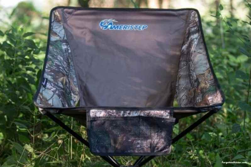 Camo on a hunting chair is important
