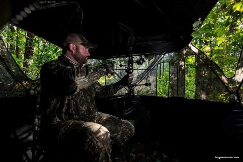 Hunter in a Blind